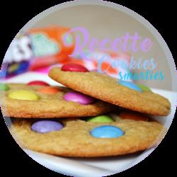 Recette de Cookies Smarties