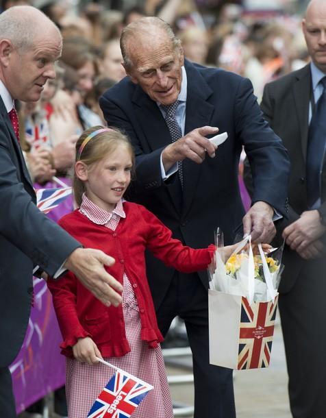 Elizabeth et Philip à Leeds