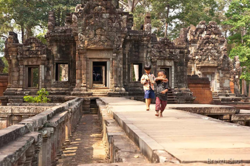 Angkor enfants de Thommanon