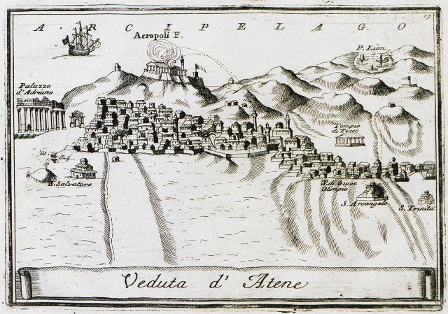 Le munument de Lysicrate et les Capucins