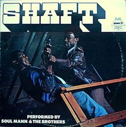 Soul Mann & The Brothers - Shaft - Complete LP