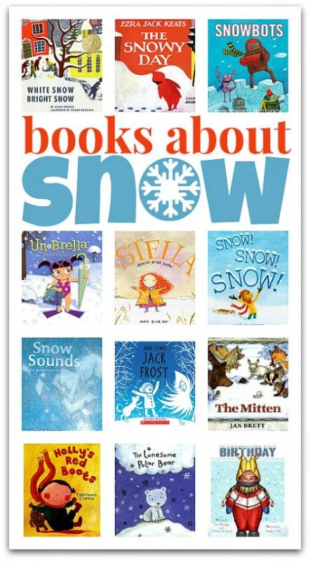 winter books for kids: