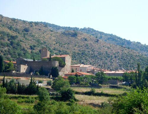 * MOLIGT-LES-BAINS Le château de Paracolls