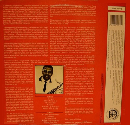 "Jr. Walker : Album "" Shake And Fingerpop "" The Magnum Music Group Records BMLP072 [ UK ]"