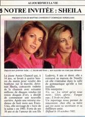 10 octobre 1983 / AUJOURD'HUI LA VIE