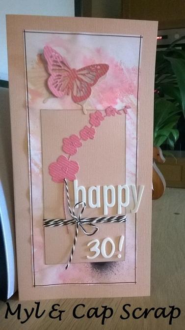Caps : Carte Happy 30 !