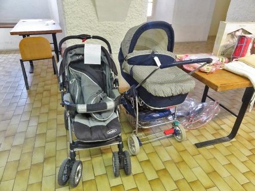 La bourse aux vêtements d'enfants et articles de puériculture organisée par le Zonta Club...