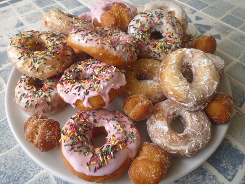 Donuts façon Cibie