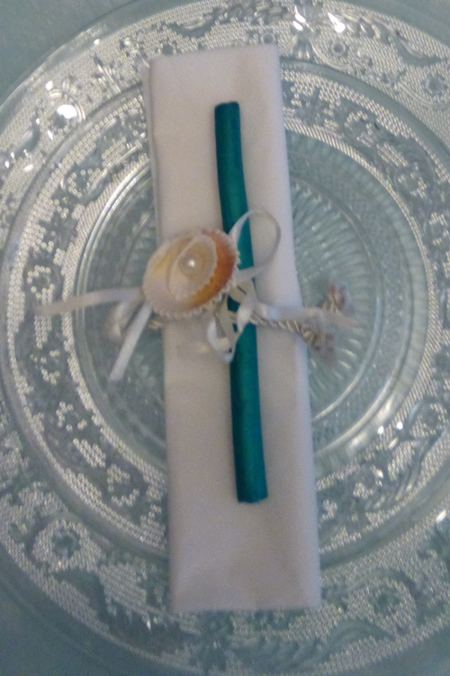 La mer Table turquoise