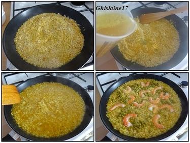 Cabillaud et son risotto espagnol, émulsion au chorizo