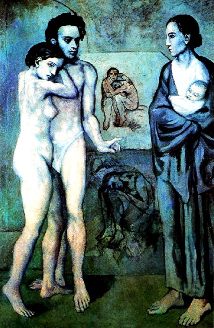 Picasso 11 / 1903 :la période bleue (5)