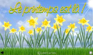 Dès que le printemps revient