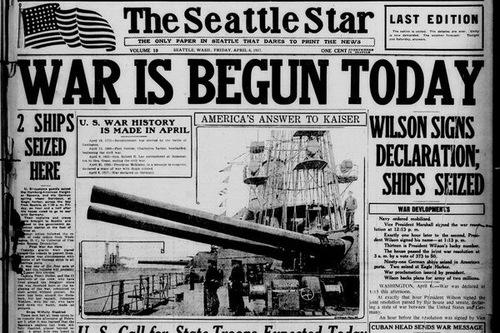 Première guerre mondiale: de 1915 à 1917