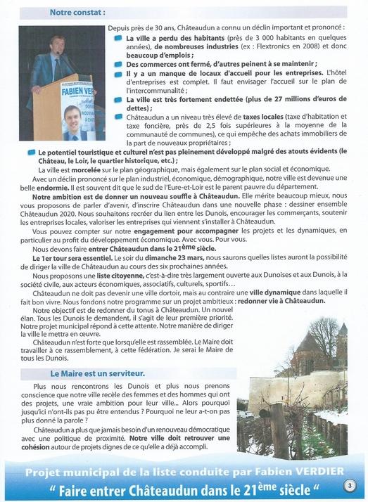 liste Châteaudun 2020 programme 3