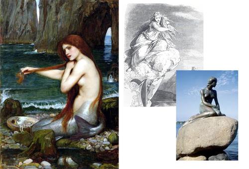 La Sirène en Peinture