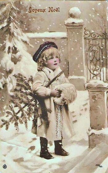 Cartes enfants Noël