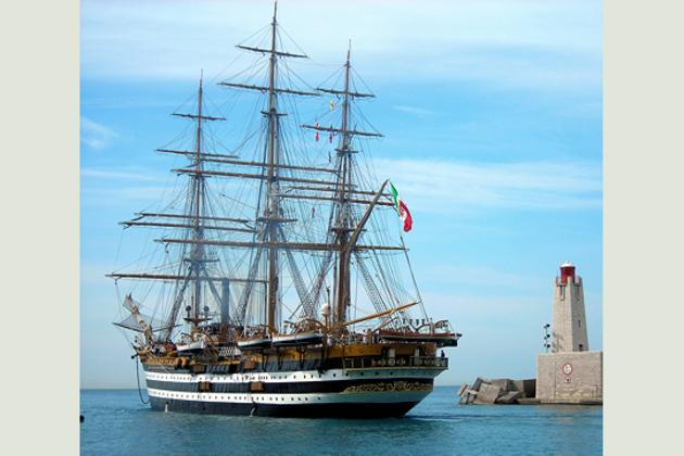 L'Amerigo Vespucci