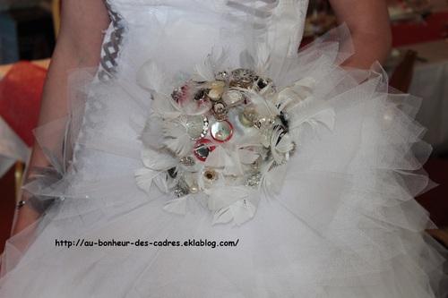 Déco de mariage :  le bouquet de la mariée