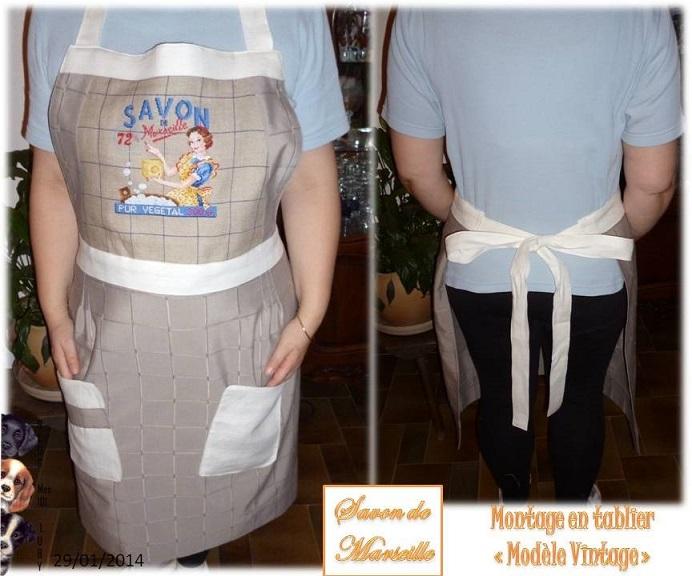 Couture Tablier Cuisine 2014 : Tuto Tablier Cuisine Retro : Savon de ...