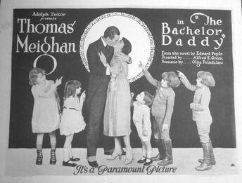 """Résultat de recherche d'images pour """"BACHELOR DADDY 1922 poster"""""""