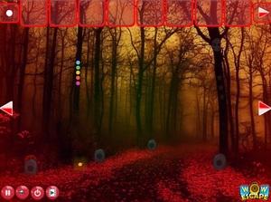 Jouer à Red forest escape