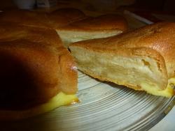Gâteau fondant amandes & pommes