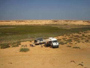 Maroc Dakhla bivouac 1