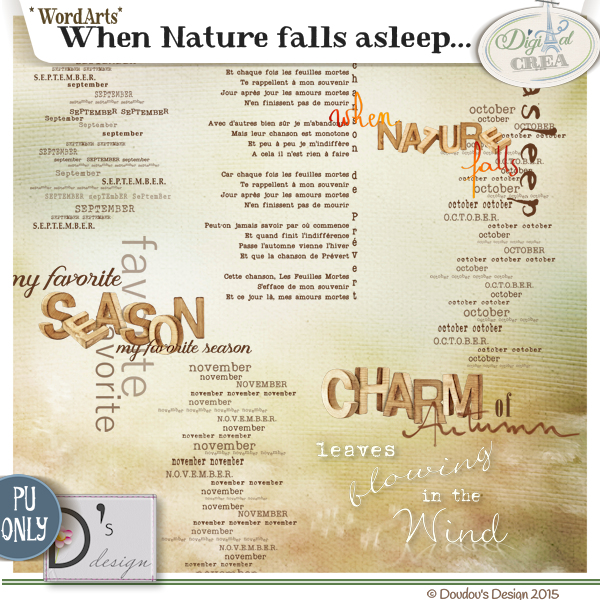 "When Nature Falls Asleep"" by DOUDOU'S DESIGN"