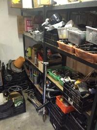 Visite de l'atelier