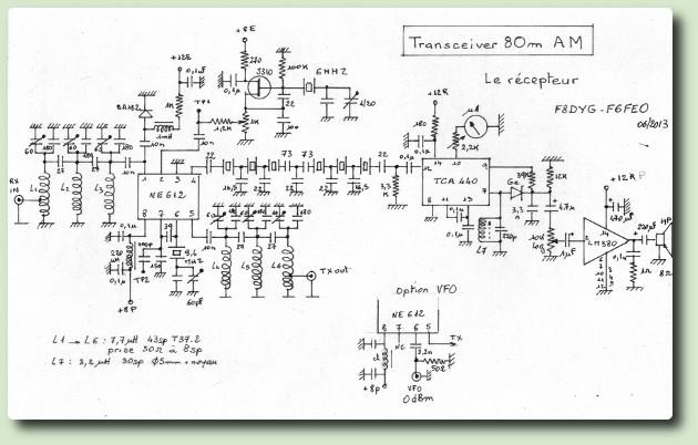 Un emetteur récepteur AM F6FEO