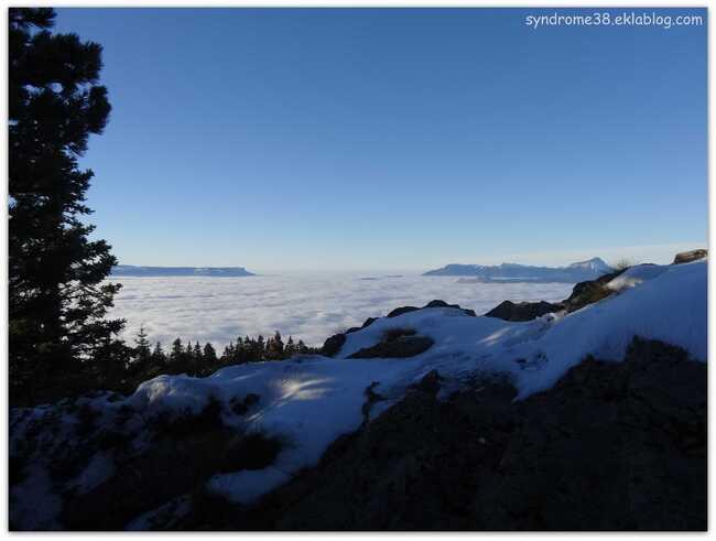 Entre neige et nuage