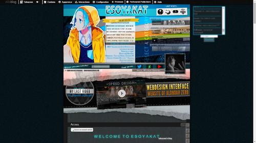 Webdesign - Esoyakat (automne 2015)