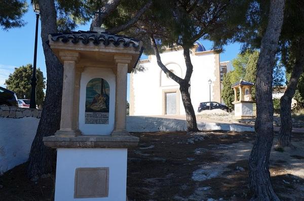 Javea: le santuario N.S. de los Angeles et l'Ermita del Calvario