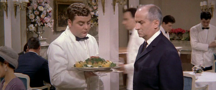 LE GRAND RESTAURANT - BOX OFFICE LOUIS DE FUNES 1966
