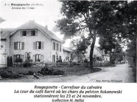 * Etape n° 27- Libérations de Vescemont et de Rougegoutte par les Fusiliers Marins, les Cuirassiers et le B.M. 24