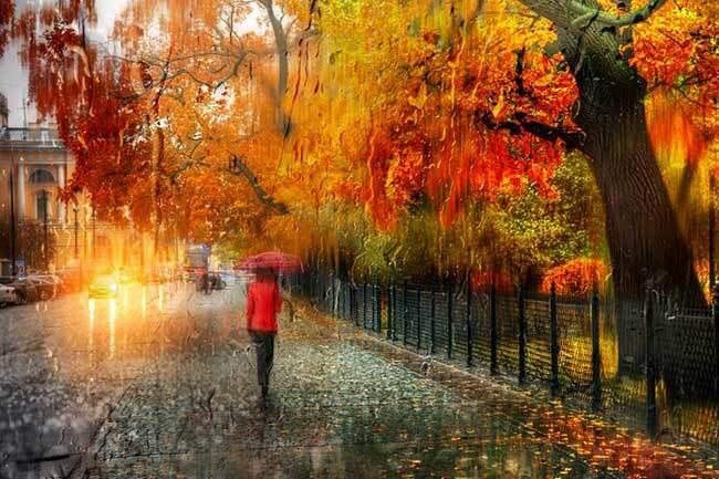 eduard gordeev photographies urbaines peinture style 8 - Ces Photos Urbaines sous la Pluie Ressemblent à des Peintures