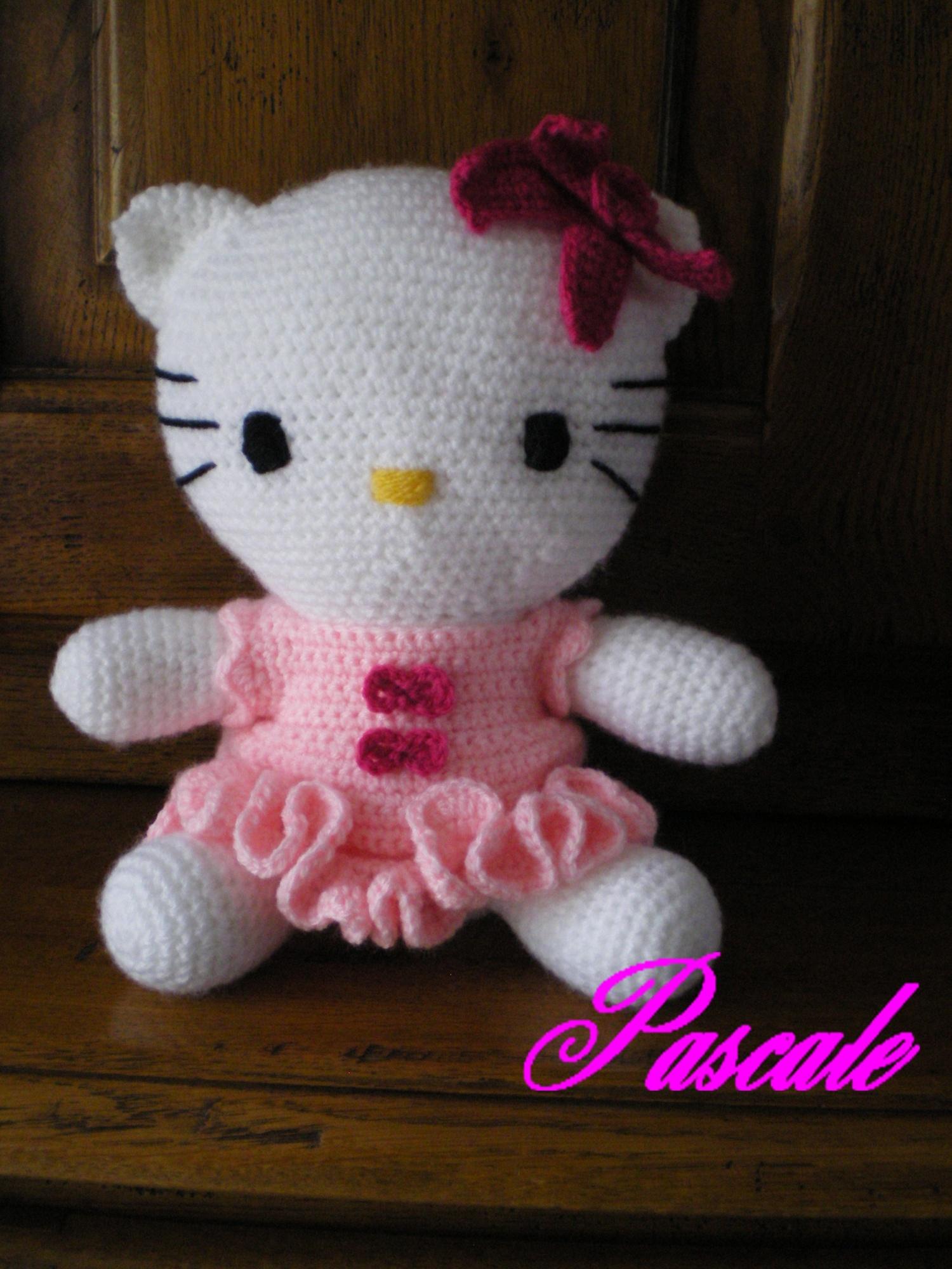 Realisations du forum le blue crochet le blog de mes passions - Modele hello kitty ...