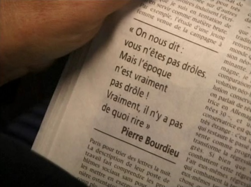 article interview Pierre Bourdieu