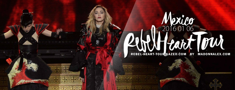 Madonna Rebel Heart Tour Mexico 1