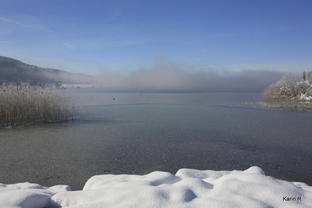 Le lac été vs hiver. Vous préférez lequel?