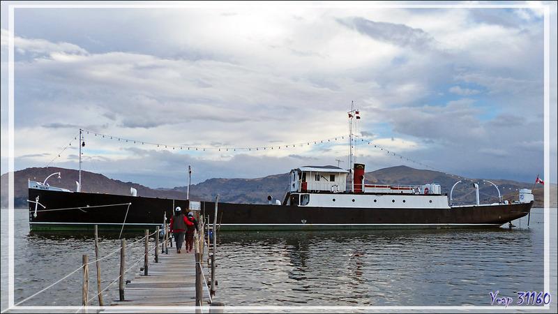 Histoire du navire Yavari, de sa construction à nos jours - Puno - Lac Titicaca - Pérou
