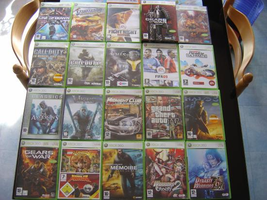 ma collection de jeux xbox 360 max clubic. Black Bedroom Furniture Sets. Home Design Ideas