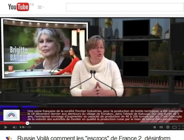 médias Fr2 pro russia poutine (2) Bardot