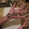 Maroc Casablanca Tatouage des mains au henné