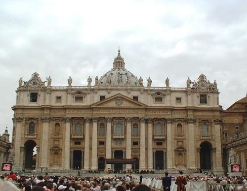 Bon retraite Benoit! Cliçés de BXVI que z'ai vus 2 fois à Rome (photos)