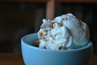 Crème Glacée façon Cheesecake