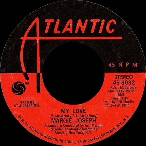 "Margie Joseph : Album "" Sweet Surrender "" Atlantic Records SD 7277 [ US ]"