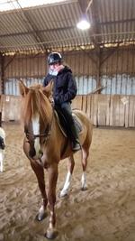 Sortie équitation, vacances de Février