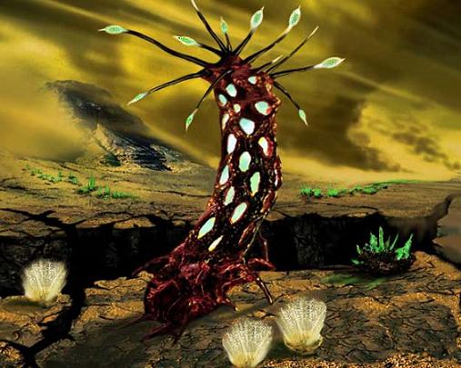 La flore extraterrestre
