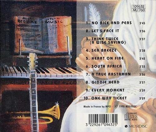 "The Gladiators : CD "" A True Rastaman "" Accord Musidisc Records 109632  MU 760 [ FR ]"
